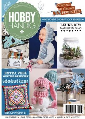 HobbyHandig 203, iOS, Android & Windows 10 magazine