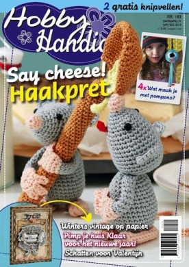 HobbyHandig 183, iOS, Android & Windows 10 magazine