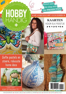 HobbyHandig 191, iOS, Android & Windows 10 magazine