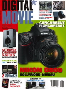 Digital Movie 5, iPad & Android magazine