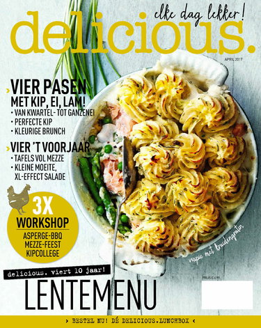 delicious 4, iOS, Android & Windows 10 magazine