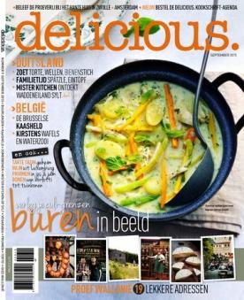 delicious 9, iOS, Android & Windows 10 magazine