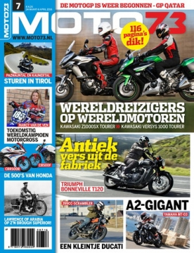 Moto73 7, iOS, Android & Windows 10 magazine