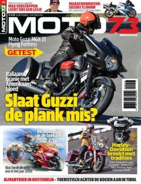 Moto73 20, iOS, Android & Windows 10 magazine