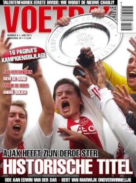 Voetbal Magazine 6, iPad & Android magazine