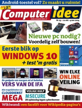 Computer Idee 23, iOS, Android & Windows 10 magazine