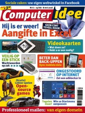 Computer Idee 6, iOS, Android & Windows 10 magazine