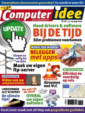 Computer Idee 18, iOS, Android & Windows 10 magazine