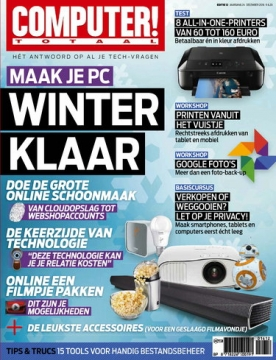 Computer Totaal 12, iOS, Android & Windows 10 magazine