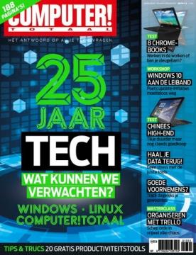 Computer Totaal 1, iOS, Android & Windows 10 magazine