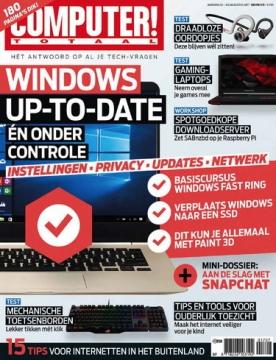 Computer Totaal 7, iOS, Android & Windows 10 magazine