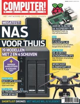 Computer Totaal 6, iOS, Android & Windows 10 magazine