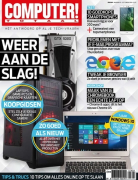 Computer Totaal 9, iOS, Android & Windows 10 magazine