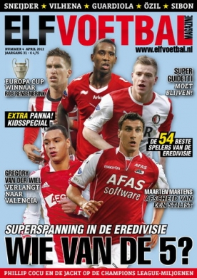 Elf Voetbal Magazine 4, iPad & Android magazine