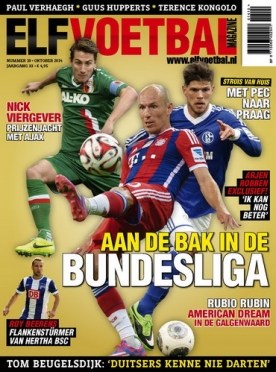 Elf Voetbal Magazine 10, iOS, Android & Windows 10 magazine