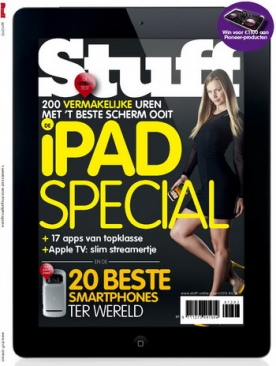 Stuff Magazine 2, iPad & Android magazine