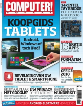 Computer Totaal 7, iPad & Android magazine