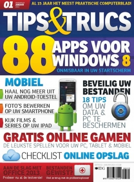 Tips&Trucs 1, iOS, Android & Windows 10 magazine