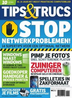 Tips&Trucs 10, iOS, Android & Windows 10 magazine