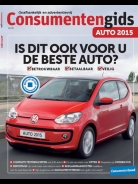 Consumentengids AUTO  2015, iOS & Android magazine