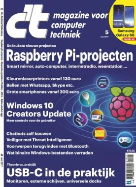 c't magazine 5, iOS, Android & Windows 10 magazine