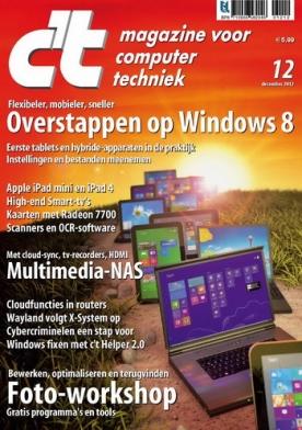 c't magazine 12, iOS, Android & Windows 10 magazine
