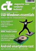 c't magazine 10, iOS, Android & Windows 10 magazine