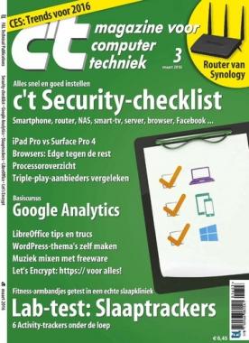 c't magazine 3, iOS, Android & Windows 10 magazine