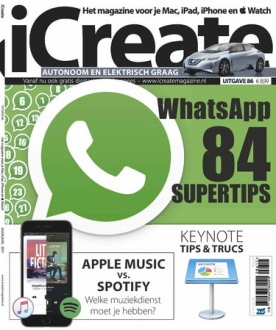 iCreate 86, iOS, Android & Windows 10 magazine