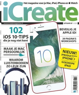 iCreate 87, iOS, Android & Windows 10 magazine