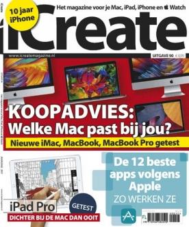 iCreate 90, iOS, Android & Windows 10 magazine