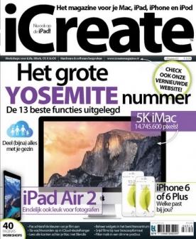 iCreate 63, iOS, Android & Windows 10 magazine