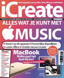 iCreate 70, iOS, Android & Windows 10 magazine