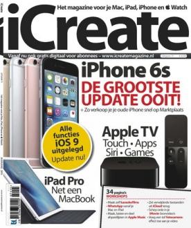 iCreate 71, iOS, Android & Windows 10 magazine