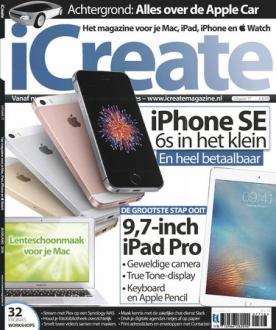 iCreate 77, iOS, Android & Windows 10 magazine