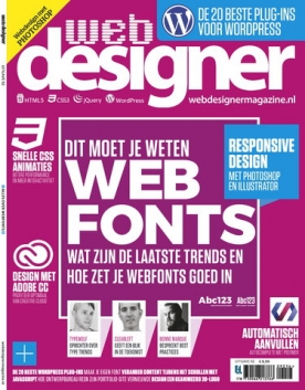 Webdesigner 92, iOS, Android & Windows 10 magazine