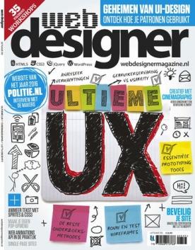 Webdesigner 93, iOS, Android & Windows 10 magazine