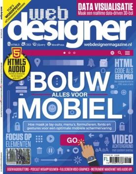 Webdesigner 98, iOS, Android & Windows 10 magazine