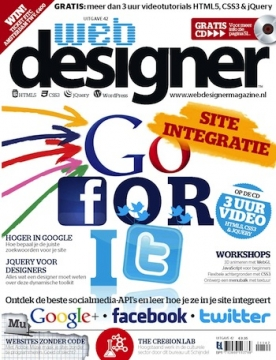 Webdesigner 42, iOS, Android & Windows 10 magazine