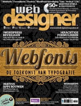 Webdesigner 48, iOS, Android & Windows 10 magazine