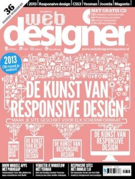 Webdesigner 53, iOS, Android & Windows 10 magazine