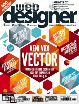 Webdesigner 58, iOS, Android & Windows 10 magazine