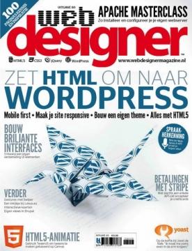 Webdesigner 60, iOS, Android & Windows 10 magazine