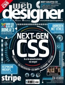 Webdesigner 62, iOS, Android & Windows 10 magazine