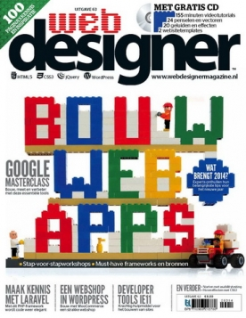 Webdesigner 63, iOS, Android & Windows 10 magazine