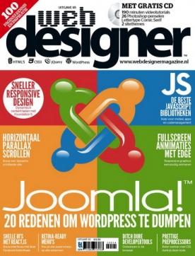 Webdesigner 65, iOS, Android & Windows 10 magazine
