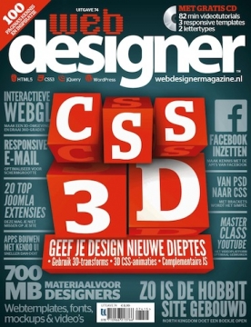 Webdesigner 74, iOS, Android & Windows 10 magazine