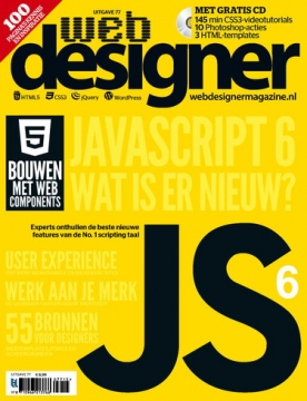 Webdesigner 77, iOS, Android & Windows 10 magazine
