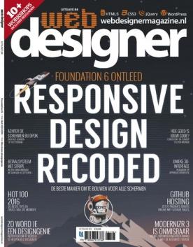 Webdesigner 84, iOS, Android & Windows 10 magazine