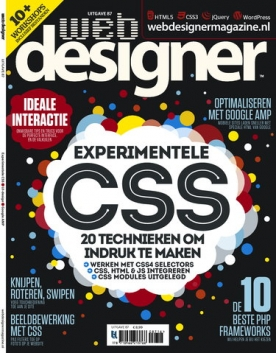 Webdesigner 87, iOS, Android & Windows 10 magazine